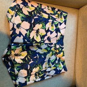 EUC J Crew tropical shorts size 0
